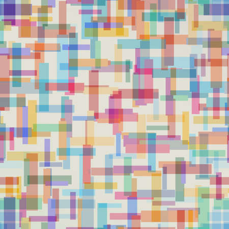 rectangle: Abstract colorful abstract pattern fromrectangle shape. Vector illustration
