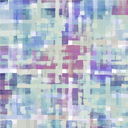 IMAGE: Pattern of colorful abstract watercolor geometric shapes.