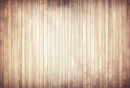 wooden desk: Light wooden texture with vertical planks  floor, table, wall surface.