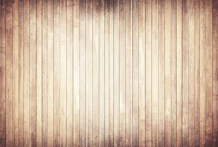 Luce struttura in legno con doghe verticali terra, da tavolo, superficie della parete. Vettoriali