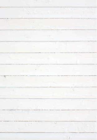 Wit geschilderde muur omheining vloer tafelblad. Houten structuur. Vector illustratie. Stock Illustratie