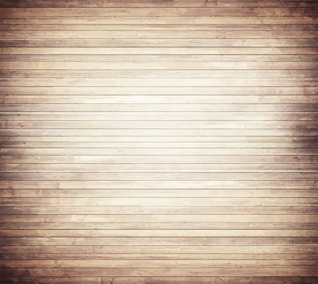 wood flooring: Light brown wooden texture with horizontal planks  floor, table, wall surface. Illustration