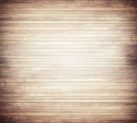 tarima madera: Luz textura de madera marr�n con suelo de tablones horizontales, mesa, superficie de la pared. Vectores
