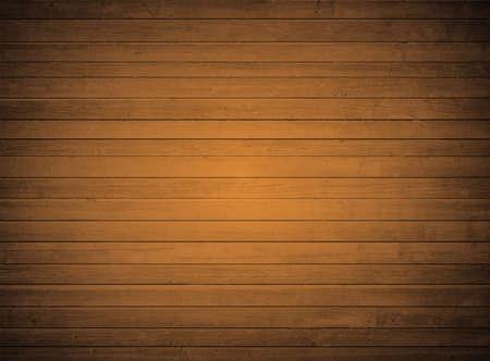 texture bois Brown avec plancher de planches horizontales, table, surface du mur. Vecteurs