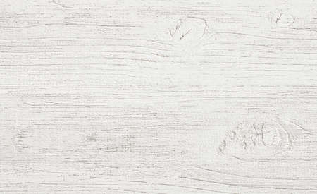 white wood floor: White painted wall fence floor or table surface. Wooden texture.