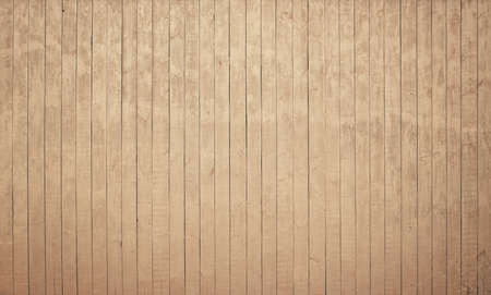 table surface: Light brown wooden texture with vertical planks, table, desk or wall surface. Stock Photo