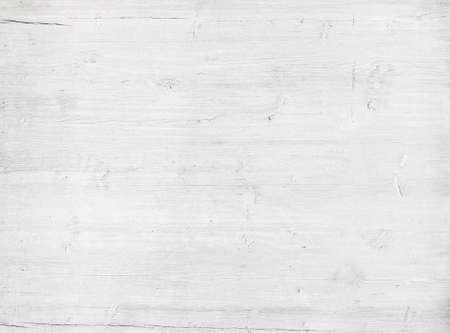 madera: Textura blanca de la pared de madera, vieja tabla de pino pintado.