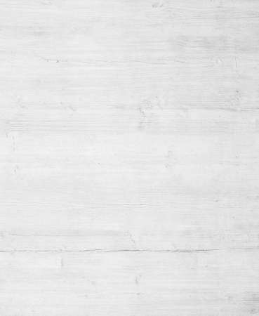 White wooden wall texture, old painted pine board. Archivio Fotografico