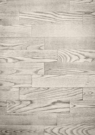 flooring: Light gray parqueted floor, planks wooden texture