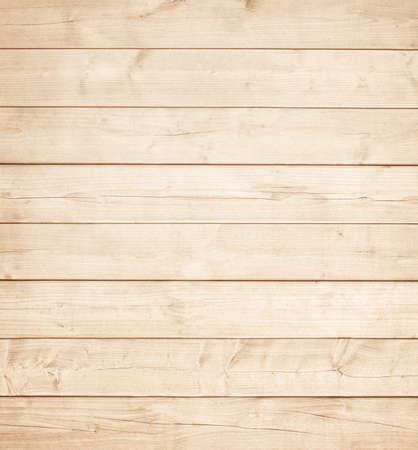軽い茶色の木製の板、壁、卓上、天井または床面。ウッド テクスチャ