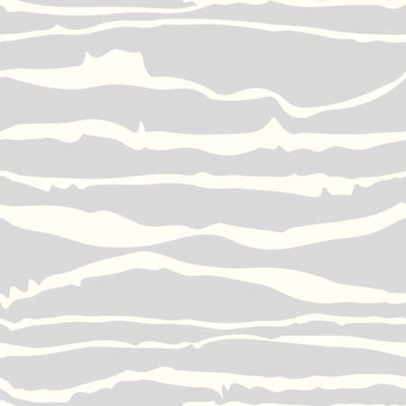 white abstract: Seamless horizontal white brush strokes, waves pattern on grey background. Abstract shapes.