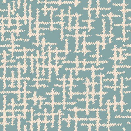 Drawn seamless scribble pattern. Abstract doodle illustration.