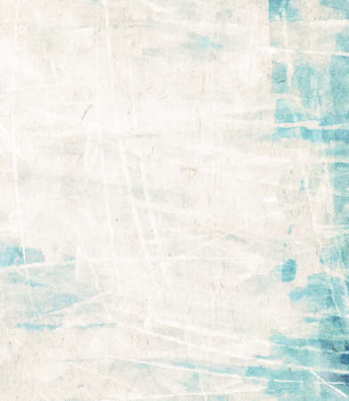 Abstract background painted on white watercolor paper.