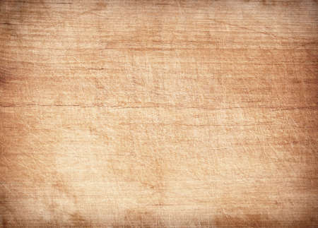 brown texture: Light brown scratched wooden cutting board. Wood texture Stock Photo