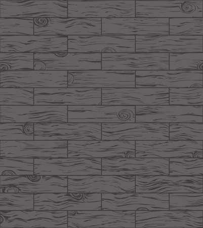 Pavimento in legno scuro, il parquet può essere usato come sfondo. Vettoriali
