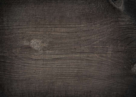 Dark grey wooden cutting, chopping board. Wood texture. Stock Photo