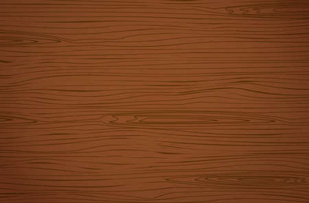 Dark brown wooden cutting, chopping board, table or floor surface. Wood texture. 向量圖像