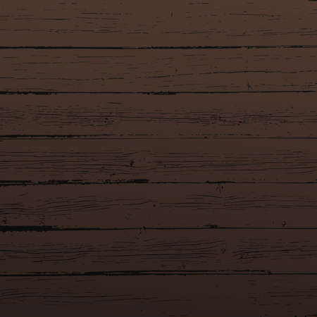 Dark brown wooden planks, table, floor surface. Cutting chopping board. Wood texture
