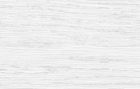 Corte de madera blanca, tabla de cortar, mesa o superficie del piso. Textura de madera. Ilustración vectorial
