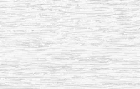 Piano di taglio, tagliere, tavolo o pavimento in legno bianco. Struttura in legno. Illustrazione vettoriale