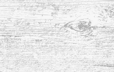 White wooden cutting, chopping board, table or floor surface. Wood texture. Vector illustration.