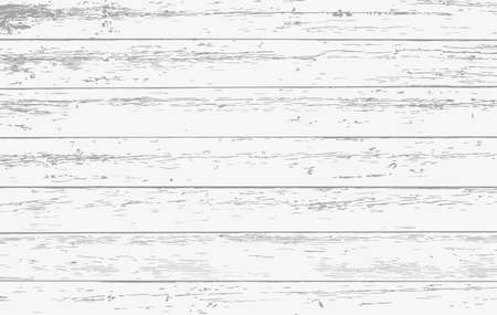 White wooden planks, table floor surface. Wooden board texture. Vector illustration. 版權商用圖片 - 101022387