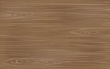 Coupe en bois brun, planche à découper, table ou surface de sol. Texture du bois. Illustration vectorielle Vecteurs