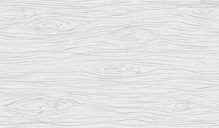 Coupe en bois blanc, planche à découper, table ou surface au sol. Texture du bois. Illustration vectorielle. Vecteurs