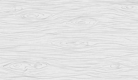 Witte houten snijplank, snijplank, tafel of vloeroppervlak. Hout textuur. Vector illustratie. Vector Illustratie