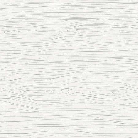 Piano di taglio, tagliere, tavolo o pavimento in legno bianco. Struttura in legno. Illustrazione vettoriale.