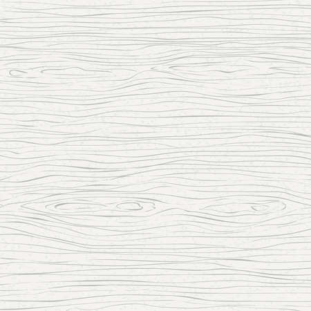 Witte houten snijplank, snijplank, tafel of vloeroppervlak. Hout textuur. Vector illustratie.