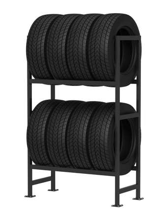 Rubber tire storage stock photos and images 123rf