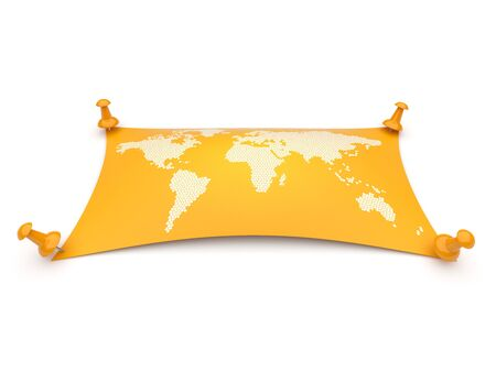 chancellery: World map  travel, geography  Isolated over white background