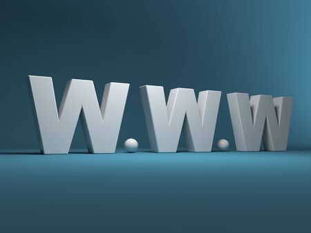 trade mark: Marchio di un World Wide Web 3D Archivio Fotografico