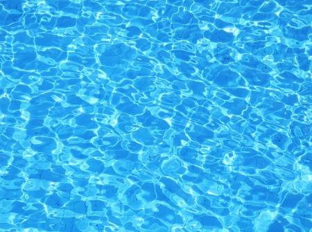 reflect: Swimming pool water. Aqua texture Stock Photo