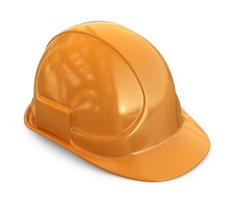 hardhat: Helmet, hardhat. 3D Icon isolated on white background
