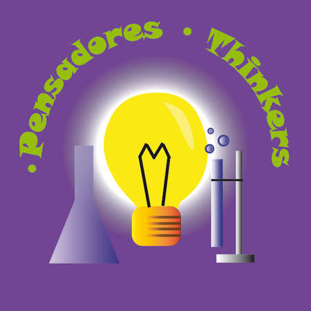 Learning .Thinkers profile. Highschool education. Spanish Ingl?s 3/10 Vectores