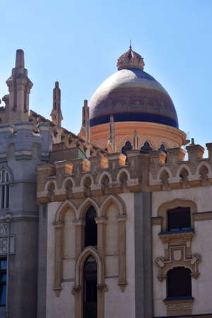 eclecticism: Church of Santa Teresa and San Jose, Also called National Church of St. Teresa of Jesus. Gotizante style eclecticism of the nineteenth century, traces of modernism mixed With