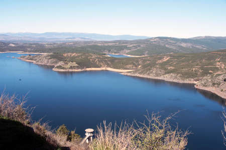 El Atazar Reservoir. Madrid's community. spain