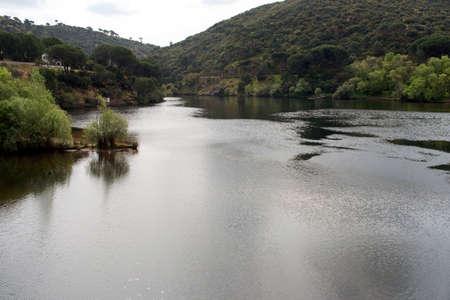 San Juan Reservoir. San Martín de Valdeiglesias, Community of Madrid. Spain