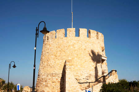 Coastal watchtower of Cape Cervera. Torrevieja Spain. Banco de Imagens