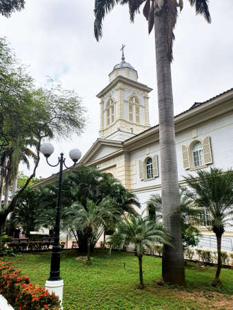 Hospice of the Sacred Heart of Jesus, in the Historical Park of Guayaquil. Ecuador