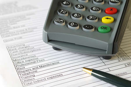 biro: Credit Terminal on Accounts Sheet