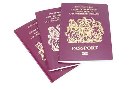 연합 왕국: 세 영국 여권