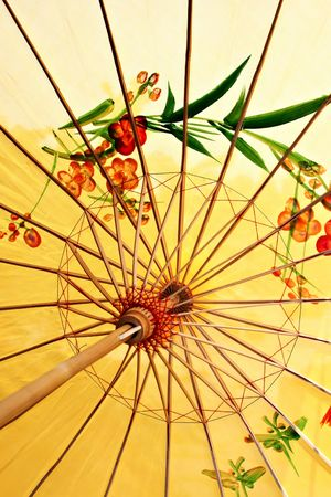 heritage protection: Ancient decorative Chinese style umbrella