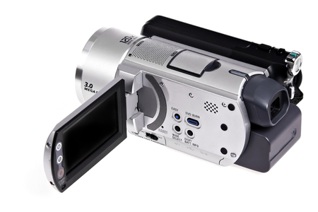 digital camcorder isolated Imagens