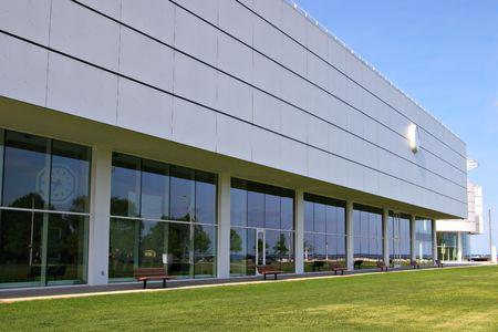 Modern Building Architechture Stock Photo