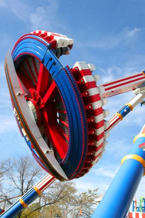 Flying Disc Roller Coaster
