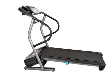 treadmill isolated on white background Imagens