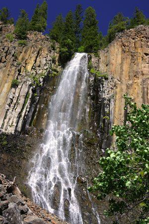Palisades Falls at Gallatin National Forest, Montana, USA Stock Photo - 3339847